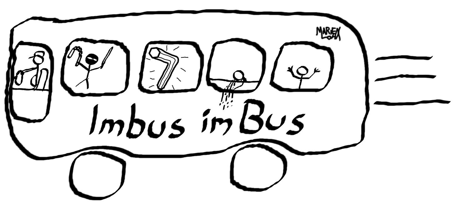 Marien Loha - Imbus im Bus