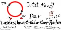 Marien Loha - Laserschwert-Hula-Hoop-Reifen